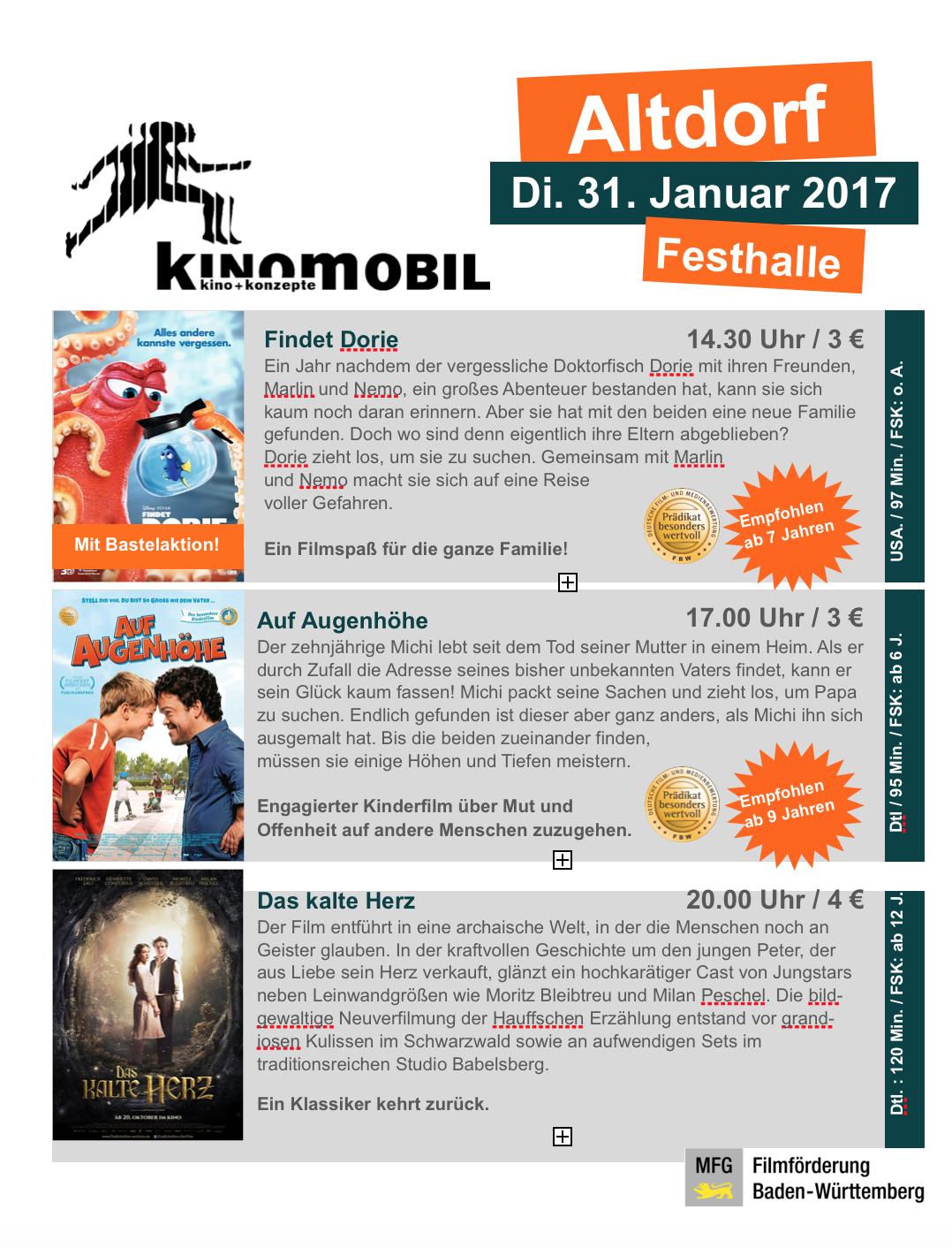 Kinomobil zu Gast in Altdorf