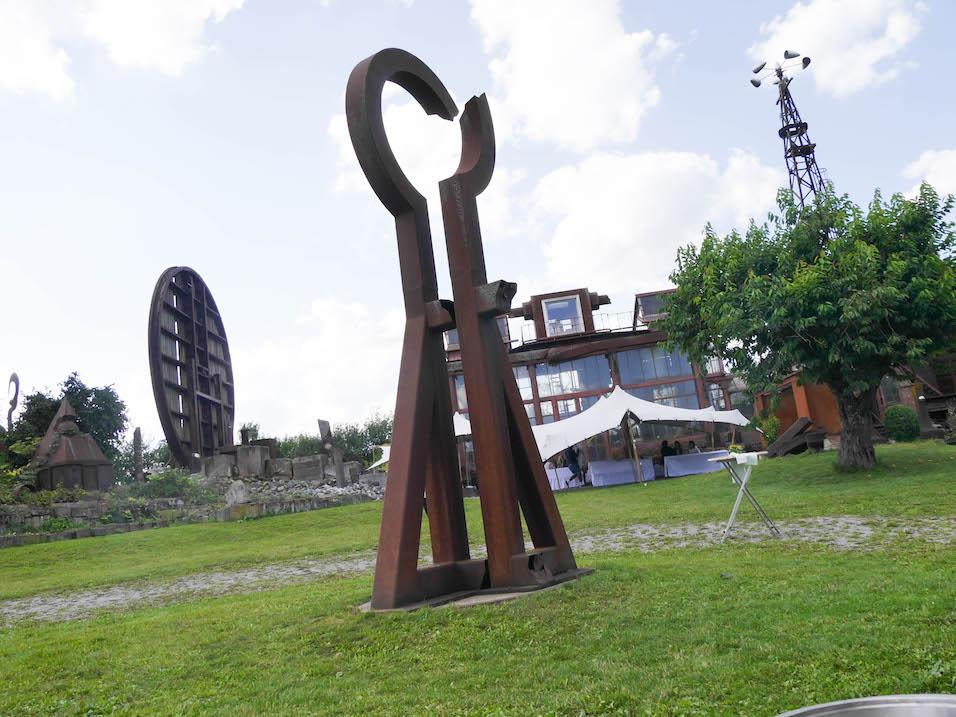 Sommerfest 2017 im Skulpturengarten von Lutz Ackermann