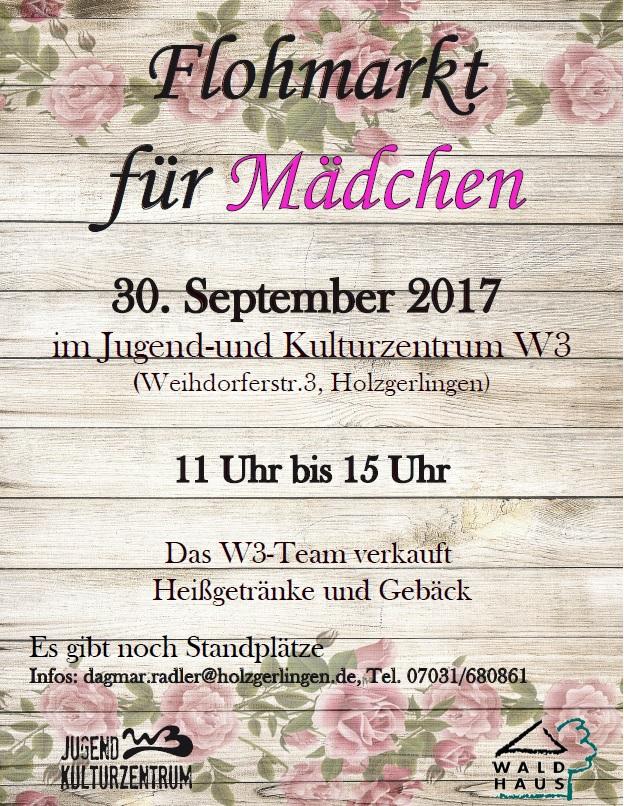 Flohmarkt für Mädchen in Holzgerlingen