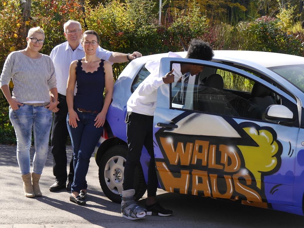 """""""Fix den Fox"""" – ein neues Fahrzeug für das Waldhaus"""