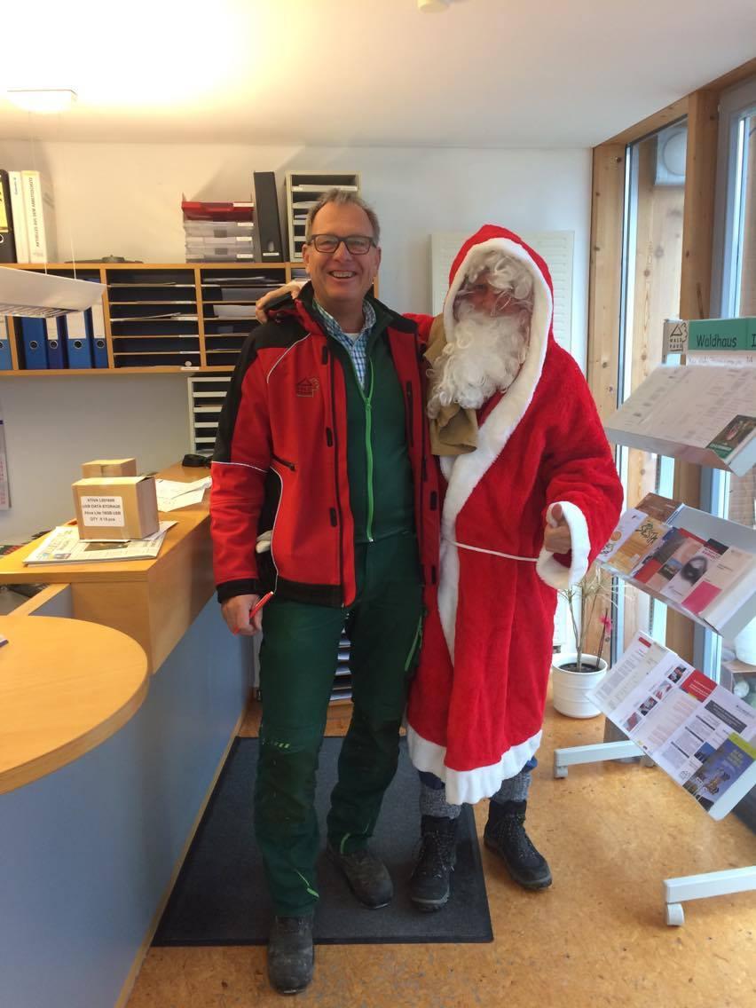 Das Waldhaus wünscht einen frohen Nikolaustag!