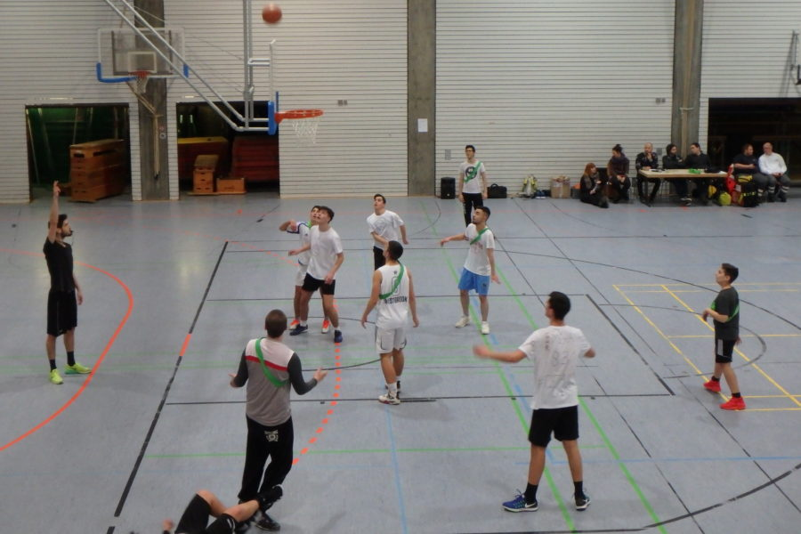 "SMV-Basketballturnier ""Let's dunk"""
