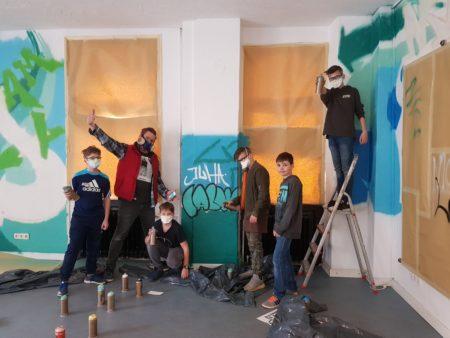Graffiti Workshop im Calwer Jugendhaus