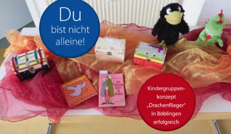"Kindergruppenkonzept ""Drachenflieger"" in Böblingen erfolgreich"