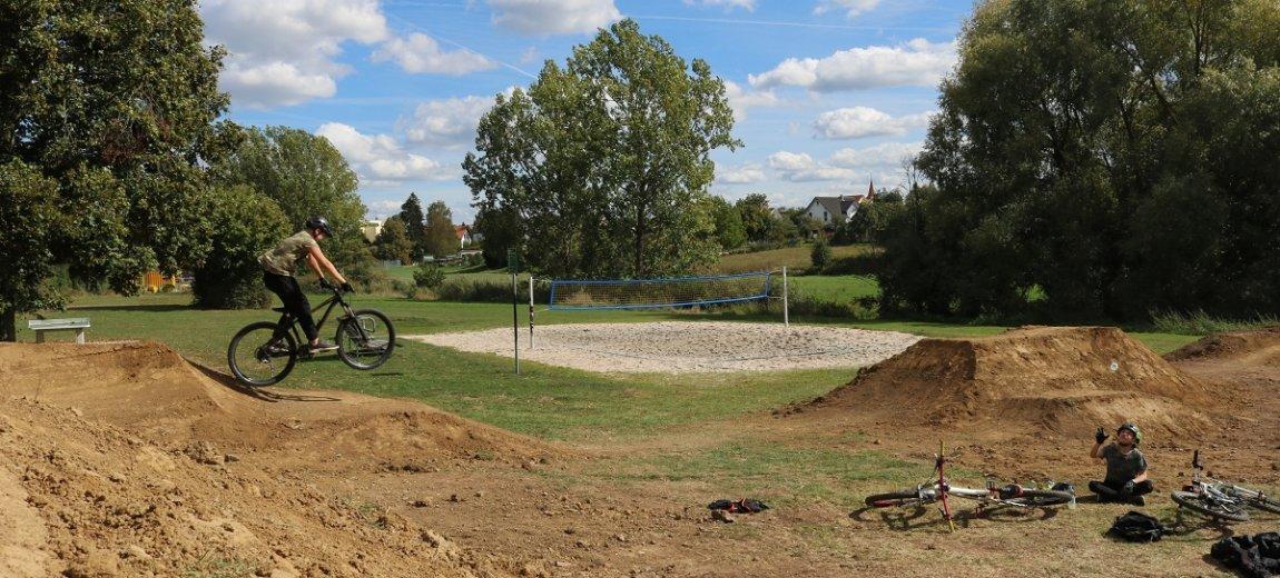 Baubeginn für Ausbau der BMX-Strecke in Altdorf