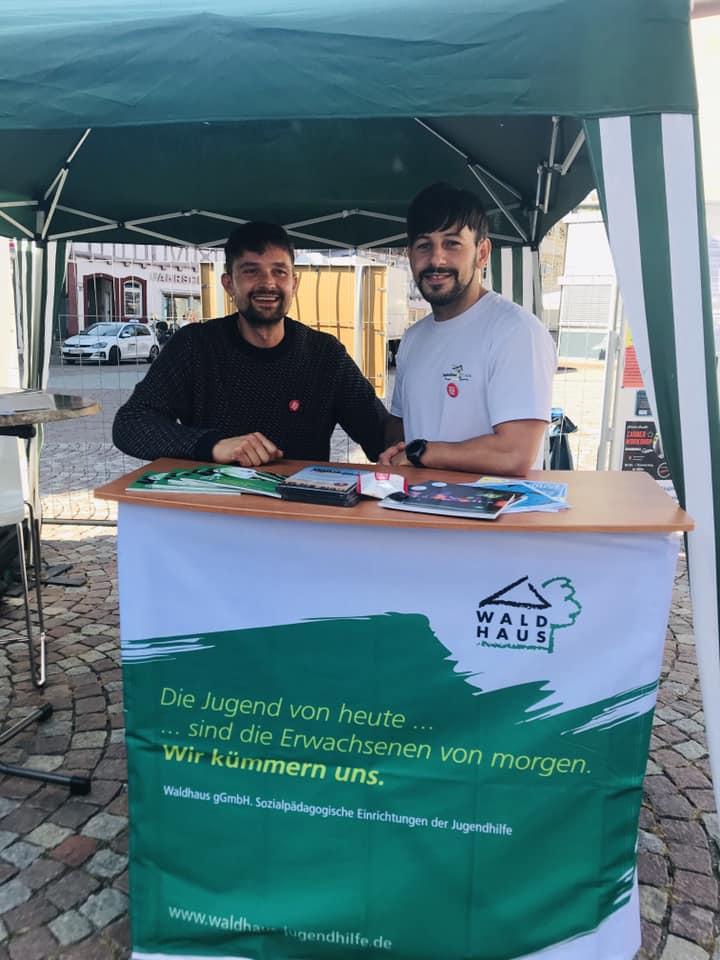 """""""Teilhaben und Teilsein"""" – Aktionstag in der Calwer Innenstadt"""