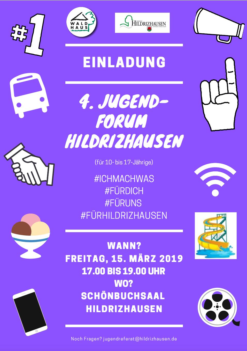 4. Jugendforum Hildrizhausen