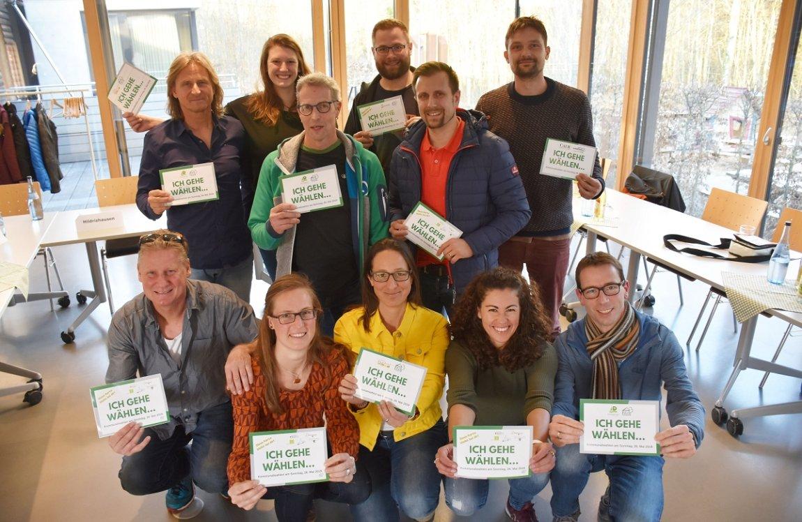 """Erstwählerprojekt der Waldhaus Jugendhilfe: """"Ich gehe wählen . . ."""""""