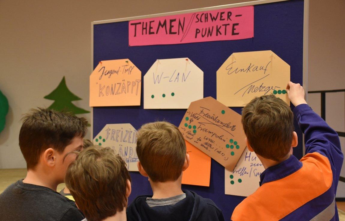 Die Jugend von Hildrizhausen hängt Umweltschutzthemen ganz hoch