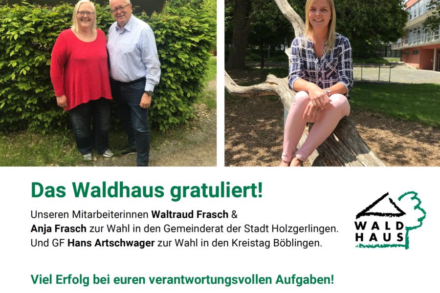Das Waldhaus gratuliert!