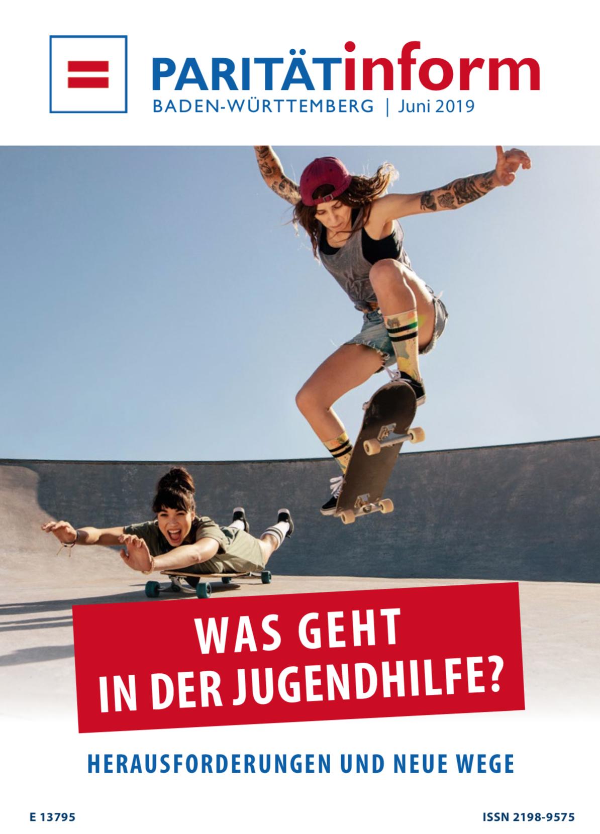 """PARITÄTinform: """"Was geht in der Jugendhilfe? – Herausforderungen und Neue Wege""""."""