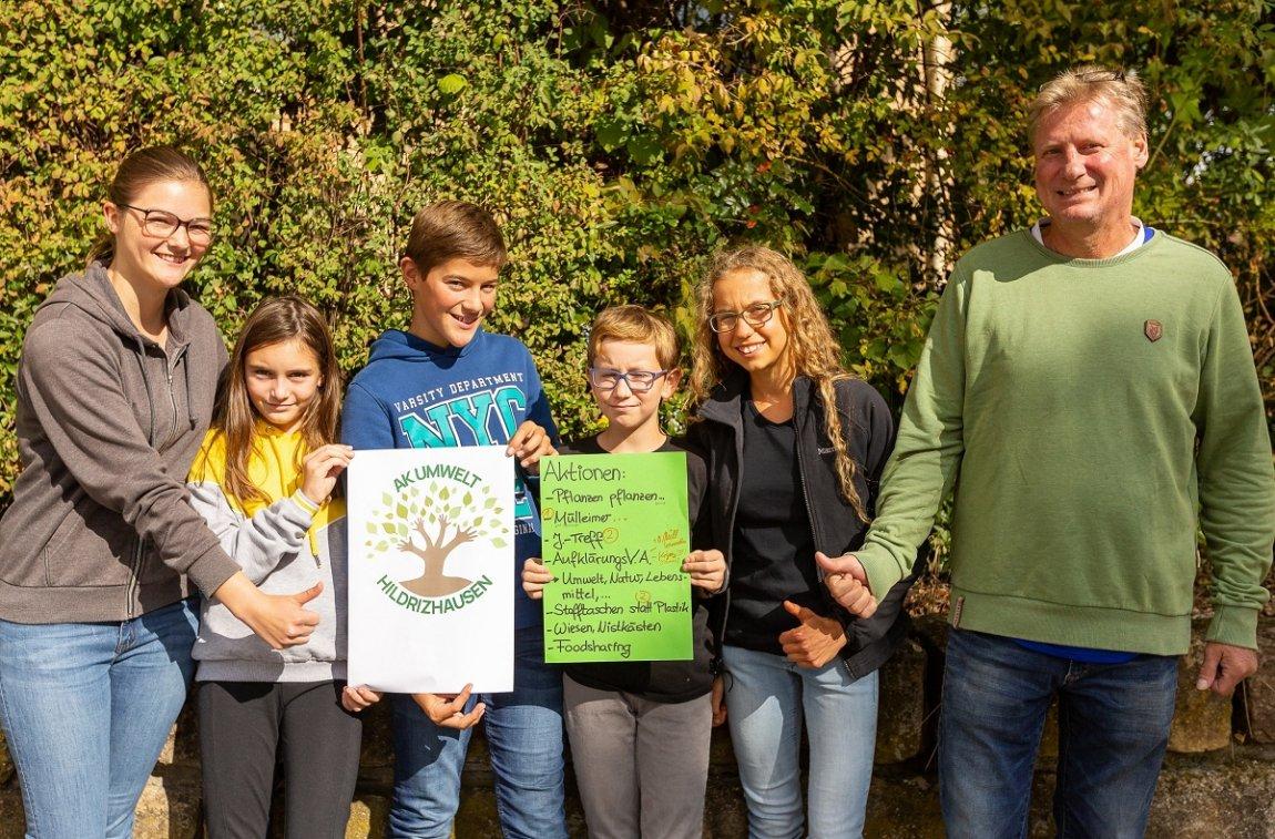 Aktionskreis Umwelt aus Hildrizhausen geht gegen Lebensmittel-Verschwendung vor