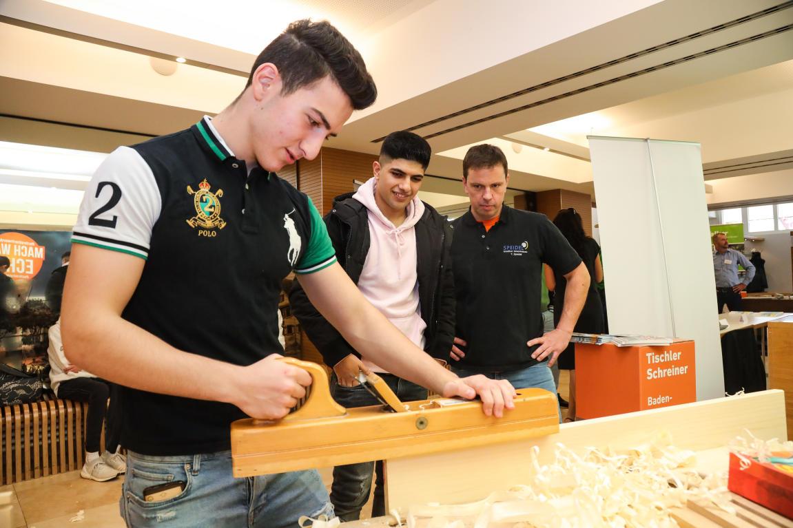 Riesenandrang bei Ausbildungsmesse in Holzgerlingen