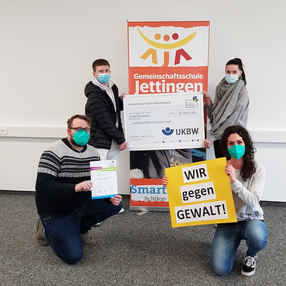 """Die Gemeinschaftsschule Jettingen ist Gewinnerschule beim """"Tag der Schülergesundheit"""""""