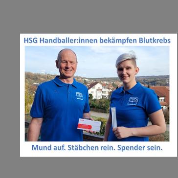 HSG Handballer:innen kämpfen gegen Blutkrebs
