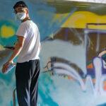 Graffiti Projekten den Pfingstferien der Jugendarbeit Calw
