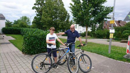 Fahrradspende für das Haus Johannes