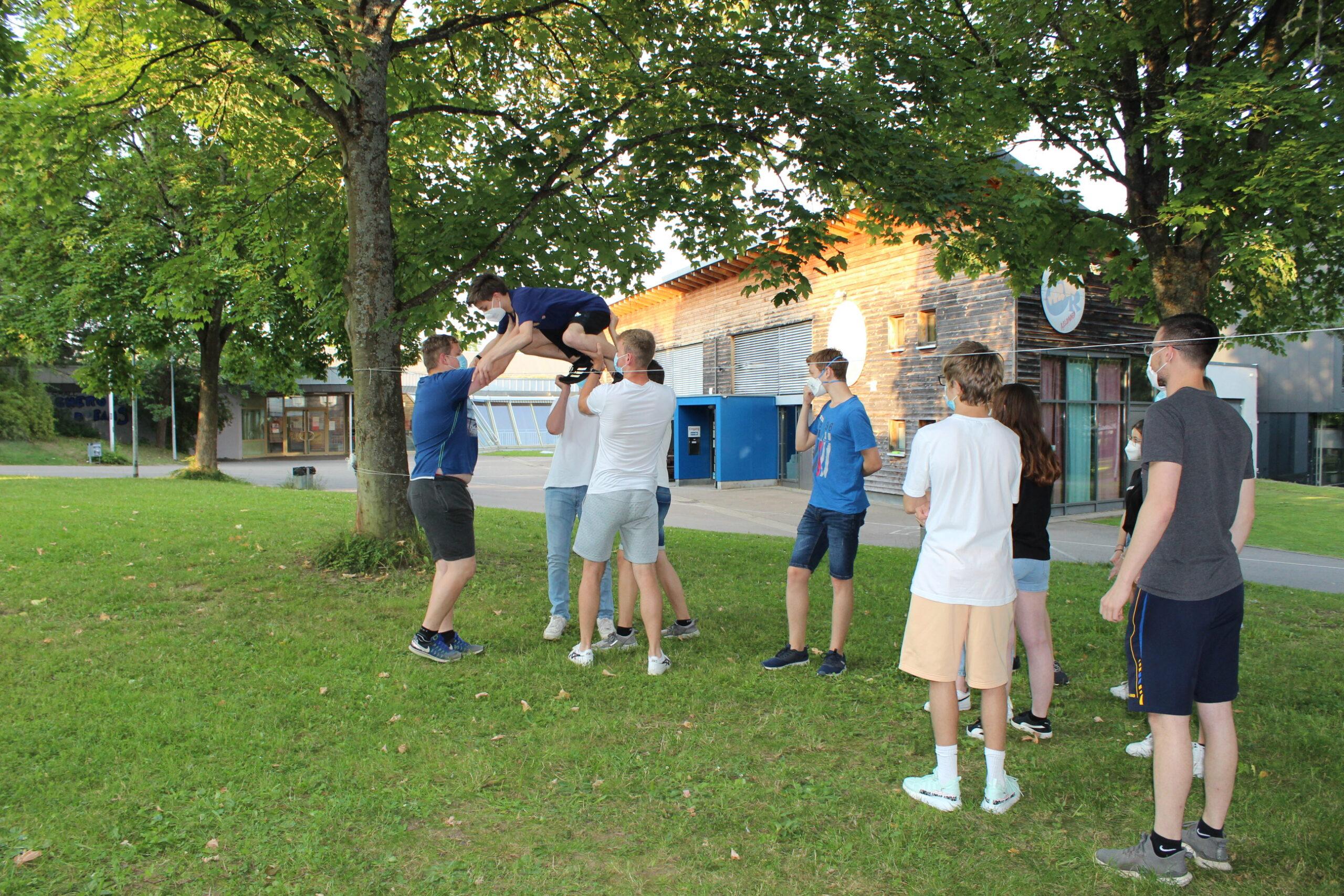 Jugendleiter-Schulung der Waldhaus Jugendreferate auf der Schönbuchlichtung 2021